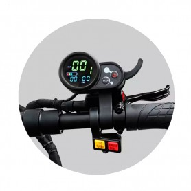 Scooter Eléctrico + Asiento 3200W