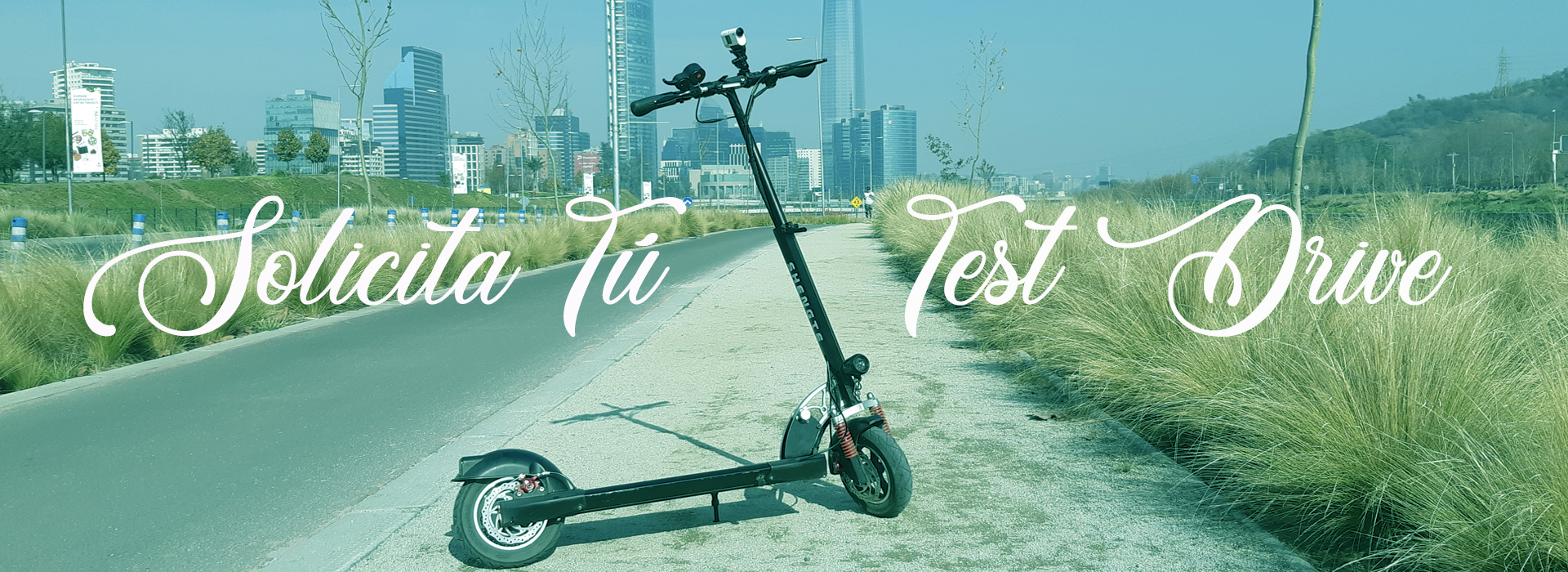 Test Drive scooter eléctrico