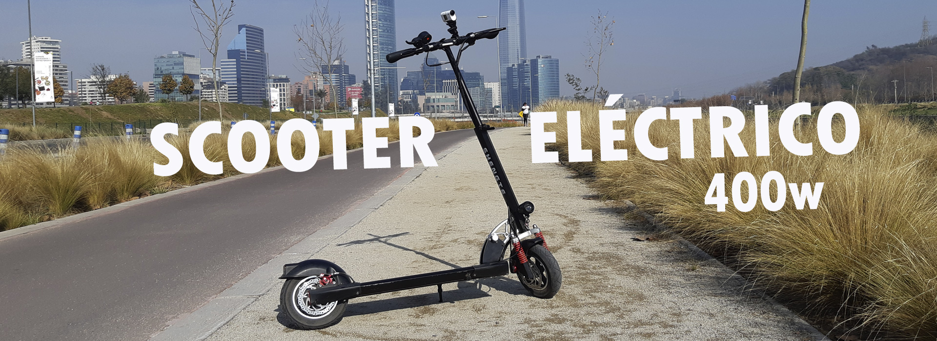 SCOOTERS ELÉCTRICOS 400w