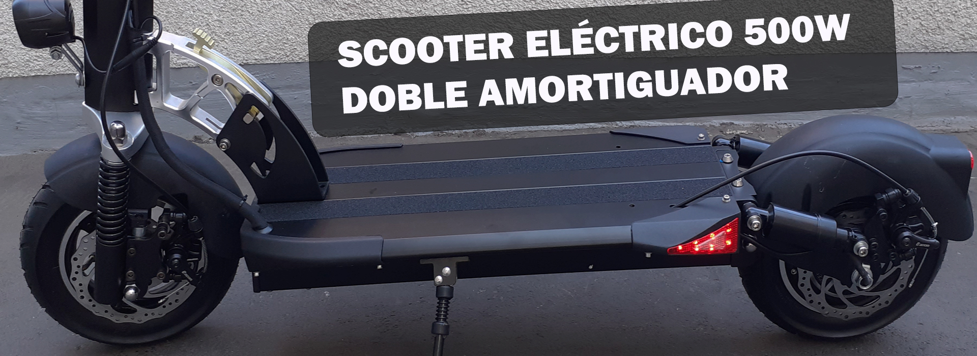 SCOOTERS ELÉCTRICOS 500W 10X 13 AMP