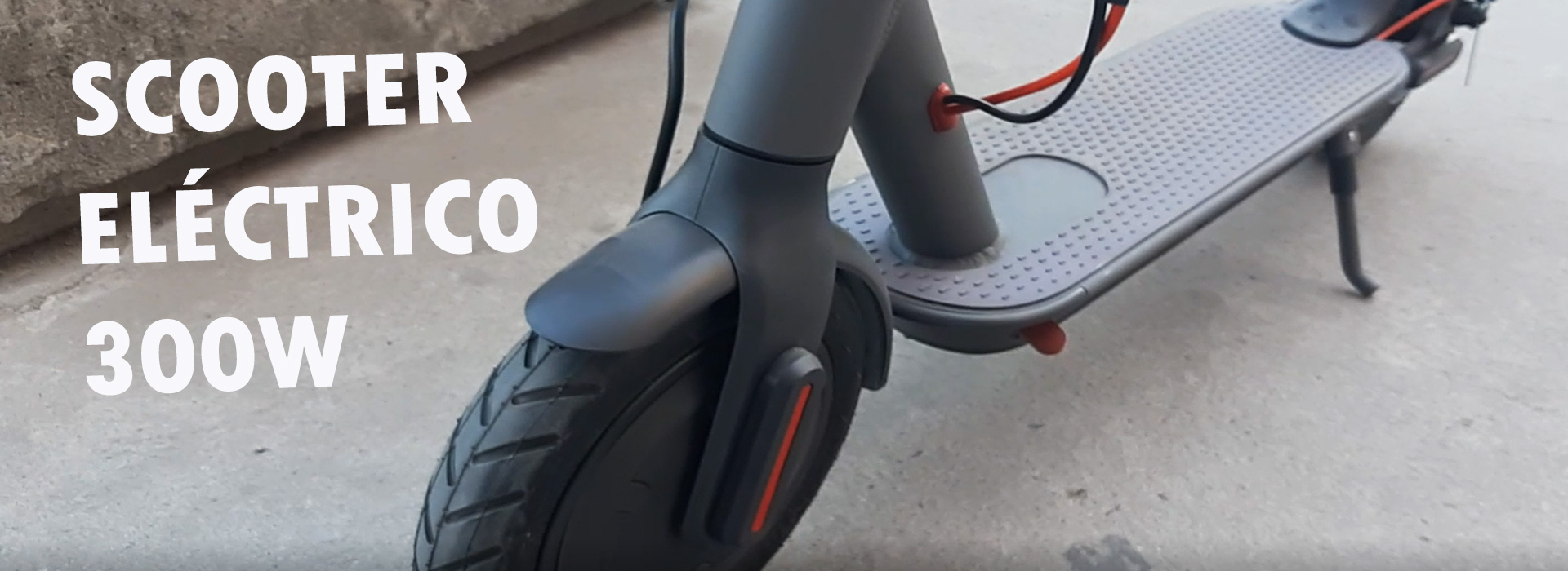 Scooter eléctrico 300w
