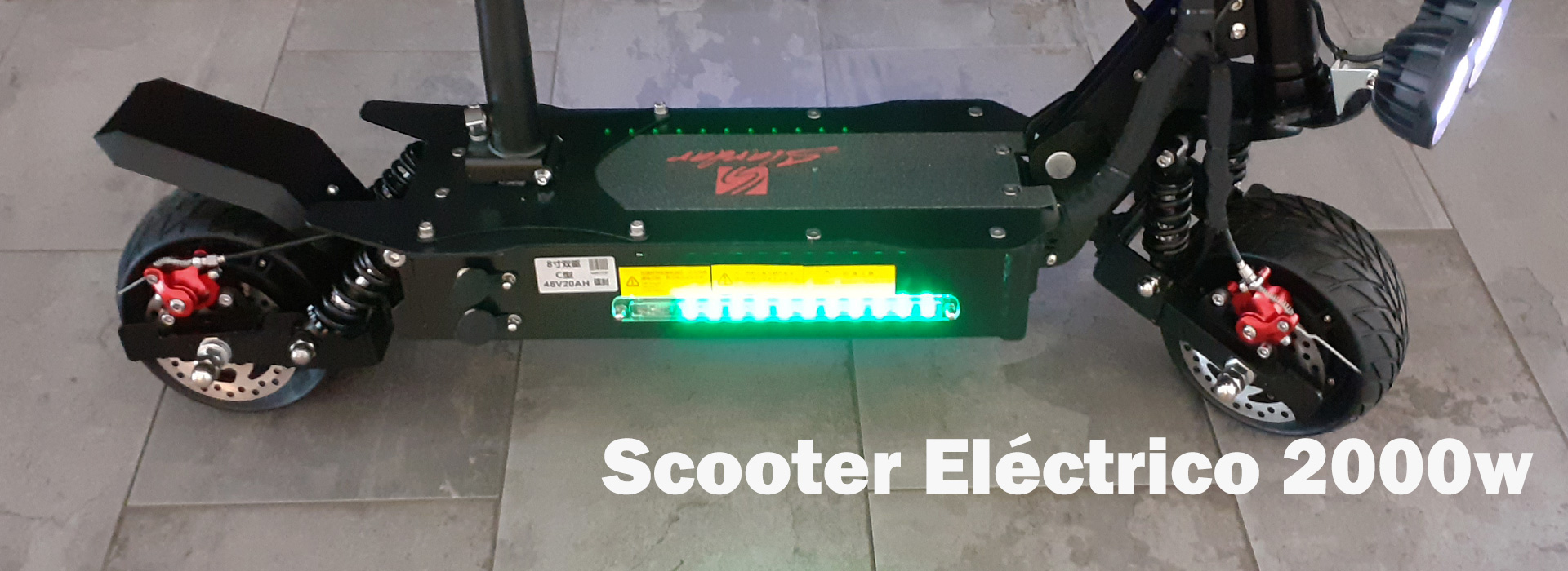 SCOOTERS ELÉCTRICOS 2000w