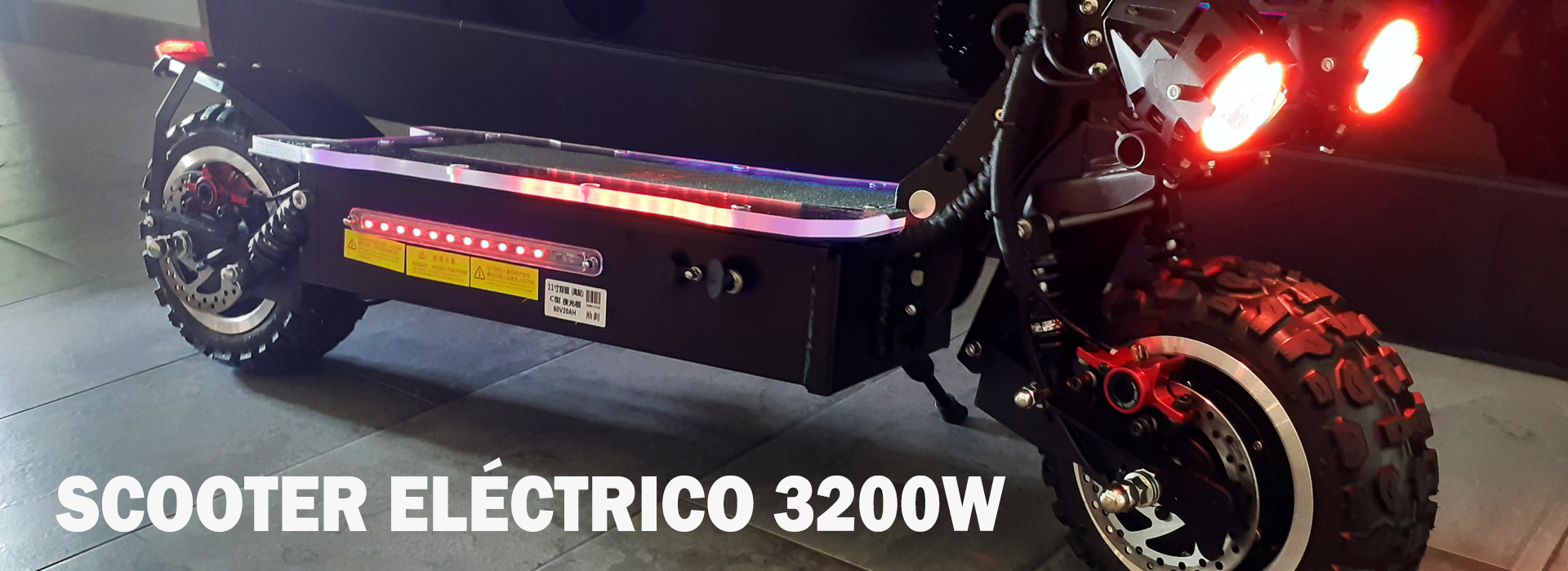SCOOTER ELÉCTRICO 3200W